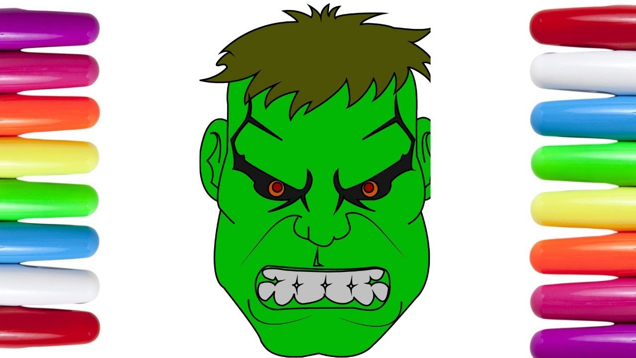How To Draw The Incredible Hulk Coloring Pages Hulk Coloring Page