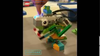 Динозавр Lego WeDo 2.0.  Dino with LEGO® WeDo 2.0