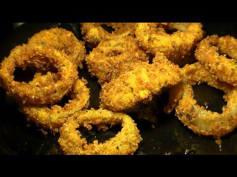 How To Make Crispy Fried Onion Rings Homemade Onion Rings Recipe