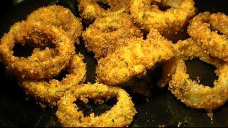How To Make Crispy Fried Onion Rings: Homemade Onion Rings Recipe