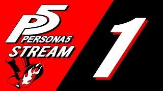 Game Virgins Stream - Persona 5  Part 1