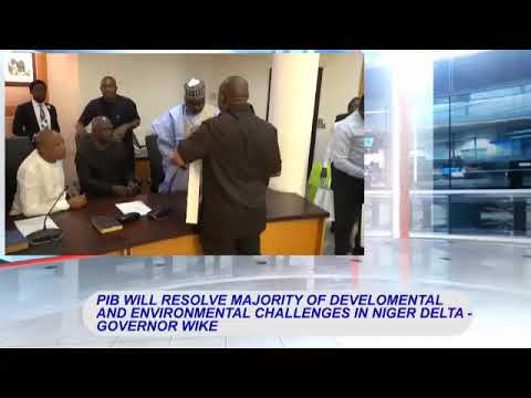 PIB will resolve majority of developmental and environmental challenges in the Niger Delta   ---Gove