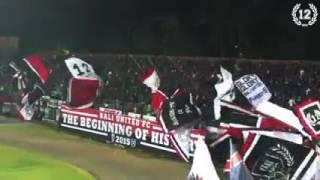 """Chants """" Baliku """" & """" Bali United Selamanya """" #NordSideBoys12"""