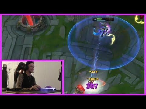 Rekkles Having Fun With 1-Shot Sona Build - Best Of LoL Streams #579