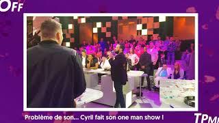 TPMP 8 ans : Cyril Hanouna fait son one man show pendant la pub (Exclu Vidéo)