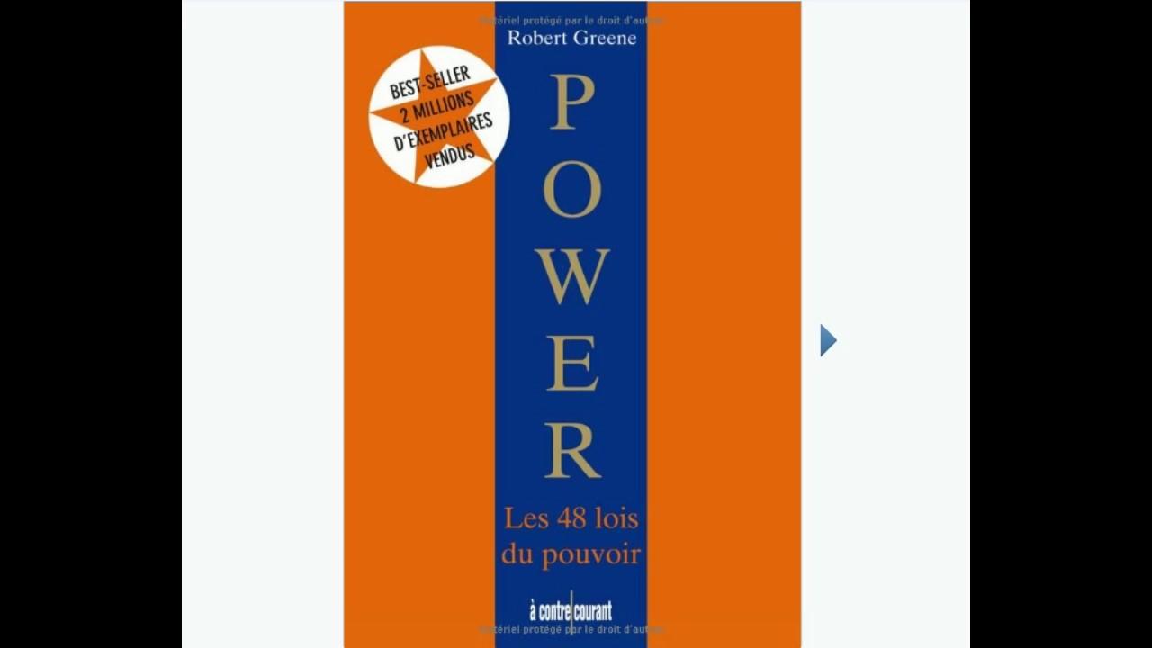 gratuitement les 48 lois du pouvoir robert greene pdf