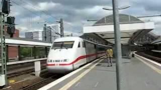 Германия. Берлин. InterCityExpress.(, 2011-09-26T19:11:05.000Z)