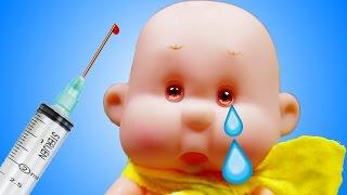 Развивающие мультики Куклы Пупсики Игра в Больницу Мультфильмы для детей игрушки для девочек