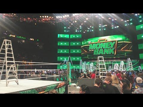 WWE Money In The Bank 2017 ROW 2 (St Louis, MO) | Brandon Hodge Vlog #57