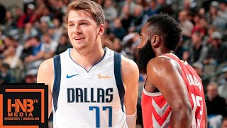 Houston Rockets vs Dallas Mavericks Full Game Highlights | 12.08.2018, NBA Season