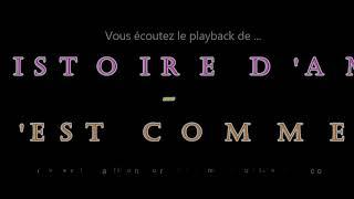 """Playback des fox-trot""""UN HISTOIRE D'AMOUR / ET C'EST COMME CA"""" composés par E. Rolland – F.Stéphant"""