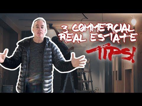 3 Commercial Real Estate Tips We've Learned So Far