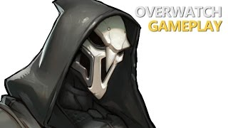 Overwatch - Time To Reap (Reaper Gameplay)