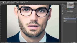 работа в Photoshop. Как нарисовать бороду?