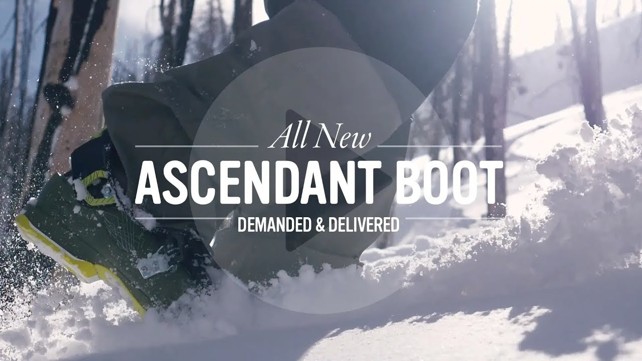 ascendant all new ski boots by full tilt lightweight freeride