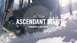 ASCENDANT: All New Ski Boots from Full Tilt - Lightweight Freeride Boots to Go Further