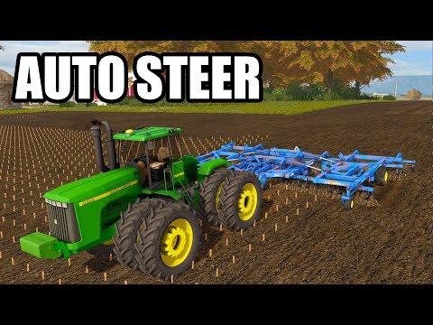 WE GOT AUTO STEER ON THE 9400 | EP#51 | FARMING SIMULATOR 2017