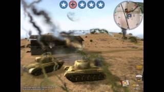 Panzer Elite Action Dunes of War PC 2007 Gameplay