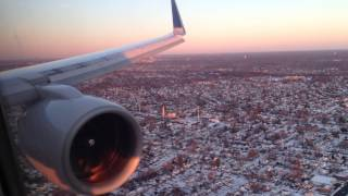 United Boeing 757-200 (Winglets) Beautiful Landing at New York John F. Kennedy International Airport