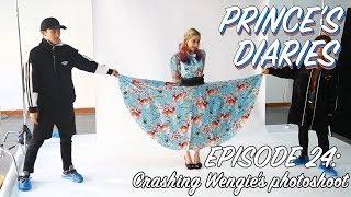 Prince Mak's Prince Diaries Ep 24: Crashing Wengie's photoshoot (DJ Prince Mak)