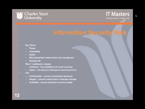Lecture 1: Free Short Course - Information Security Incident Handling