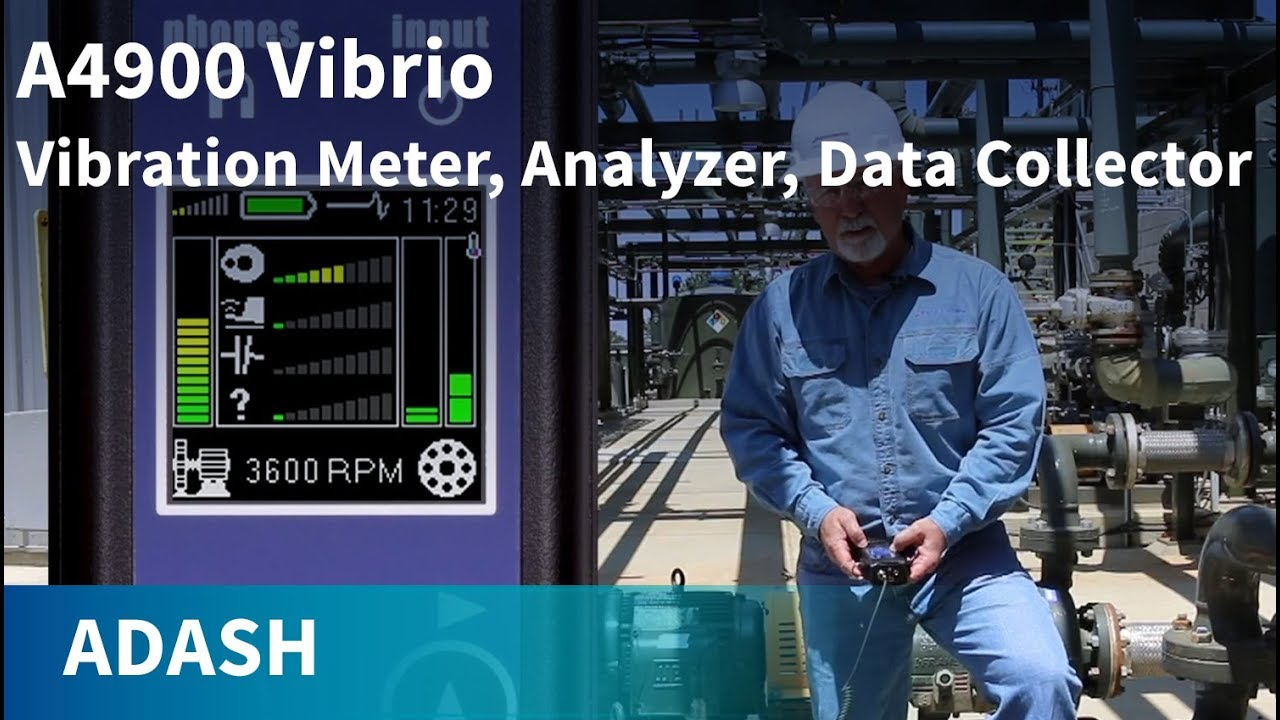Adash Vibrio M - Vibration Meter, Analyzer and Data Collector in One