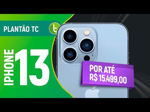 IPHONE 13 por até R$ 15.499 no BRASIL, IPHONE 12 mais BARATO e mais   Plantão TC #82