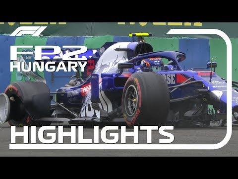 2019 Hungarian Grand Prix: FP2 Highlights