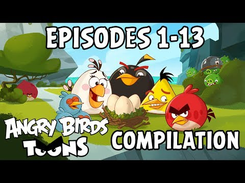 Angry Birds Toons Compilation | Season 1 Mashup | Ep1-13