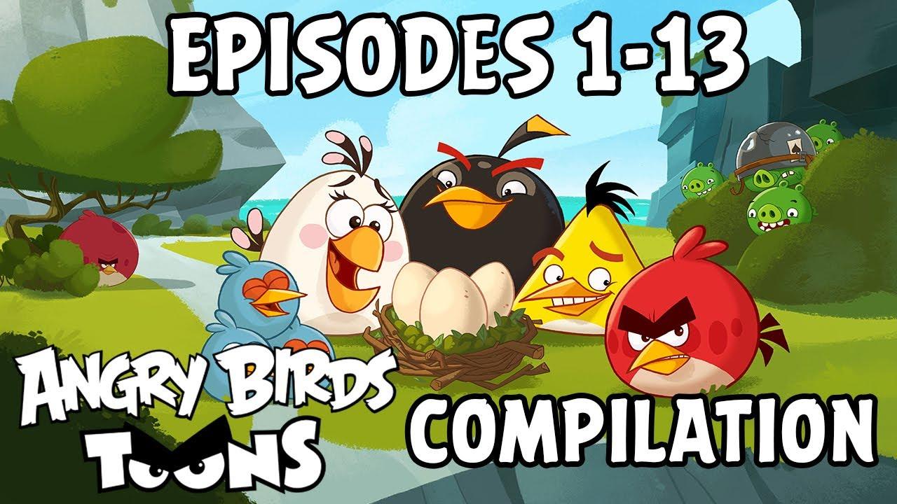 FULL Angry Birds Toons Compilation | Season 1 Mashup | Ep1-13