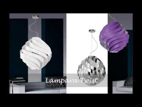 L mparas de dise o decoraci n con l mparas modernas youtube - Lamparas arana modernas ...
