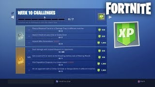 Fortnite Season 7 Week 10 Challenges (Creator Code: JayShockblast)