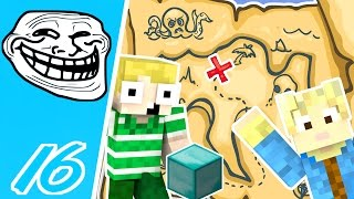 Dansk Minecraft - Trolling #16: SKATTE JAGT TROLL!!