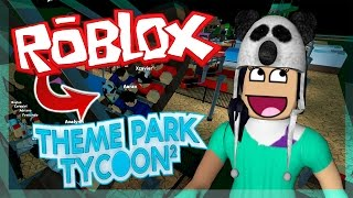 NEW TOY IN THE PARK | ROBLOX (Theme Park Tycoon 2)