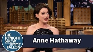 Anne Hathaway Crashed a Party withMatthew McConaughey