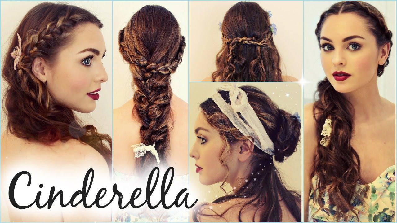 """cinderella """"messy maiden"""" hairstyles"""