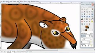 How I draw Saber-toothed Cats