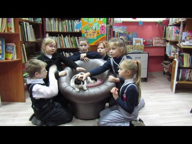 Изображение предпросмотра прочтения – «Детская библиотека № 16» читает произведение «Дикарка» А.Л.Барто