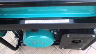 Agregat prądotwórczy Heron trójfazowy 4 kw na gaz LPG, gaz ziemny NG i benzynę