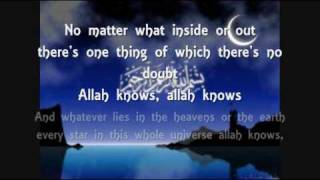 allah knows with lyrics