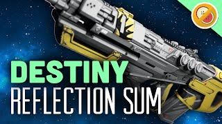 DESTINY Reflection Sum Legendary Pulse Rifle Review (Trials of Osiris)