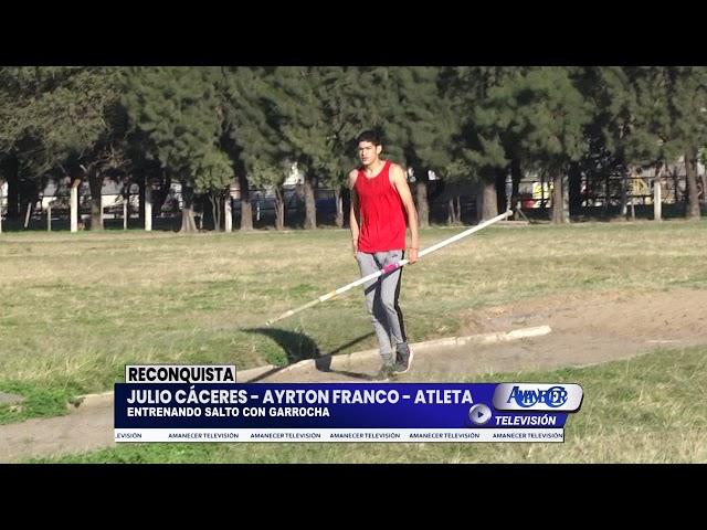 JULIO CÁSERES - AYRTON FRANCO