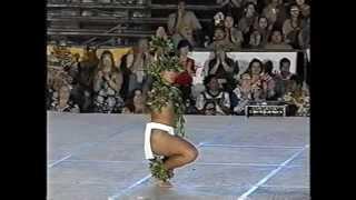 Merry Monarch Hula Festival 1998,Hula:Ku Kanaka Kaua O Kona,Hula Kane Kahiko Division