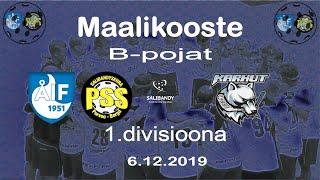 Maalikooste ÅIF/PSS - Karhut (B-pojat 1.divisioona 6.12.2019)