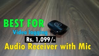 signature Acoustics Sparrow Bluetooth Audio Receiver with Mic perfect for Video Logging Rs. 1,099
