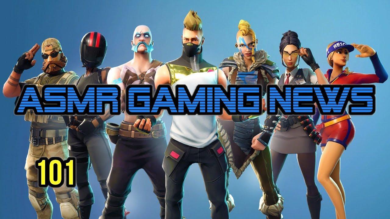 ASMR Gaming News (101) Fortnite Season 5, Overwatch, Doom Eternal, Pokemon Mewtwo, Nintendo Switch +