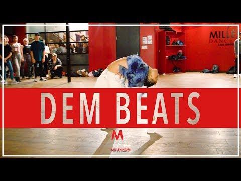 Todrick Hall feat. RuPaul - Dem Beats | Choreography by Blake McGrath