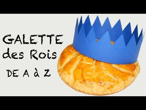 galette-des-rois,-pâte-feuilletée-maison-ultra-simple!