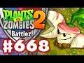 Battlez! Parsnip Epic Quest! - Plants vs. Zombies 2 - Gameplay Walkthrough Part 668