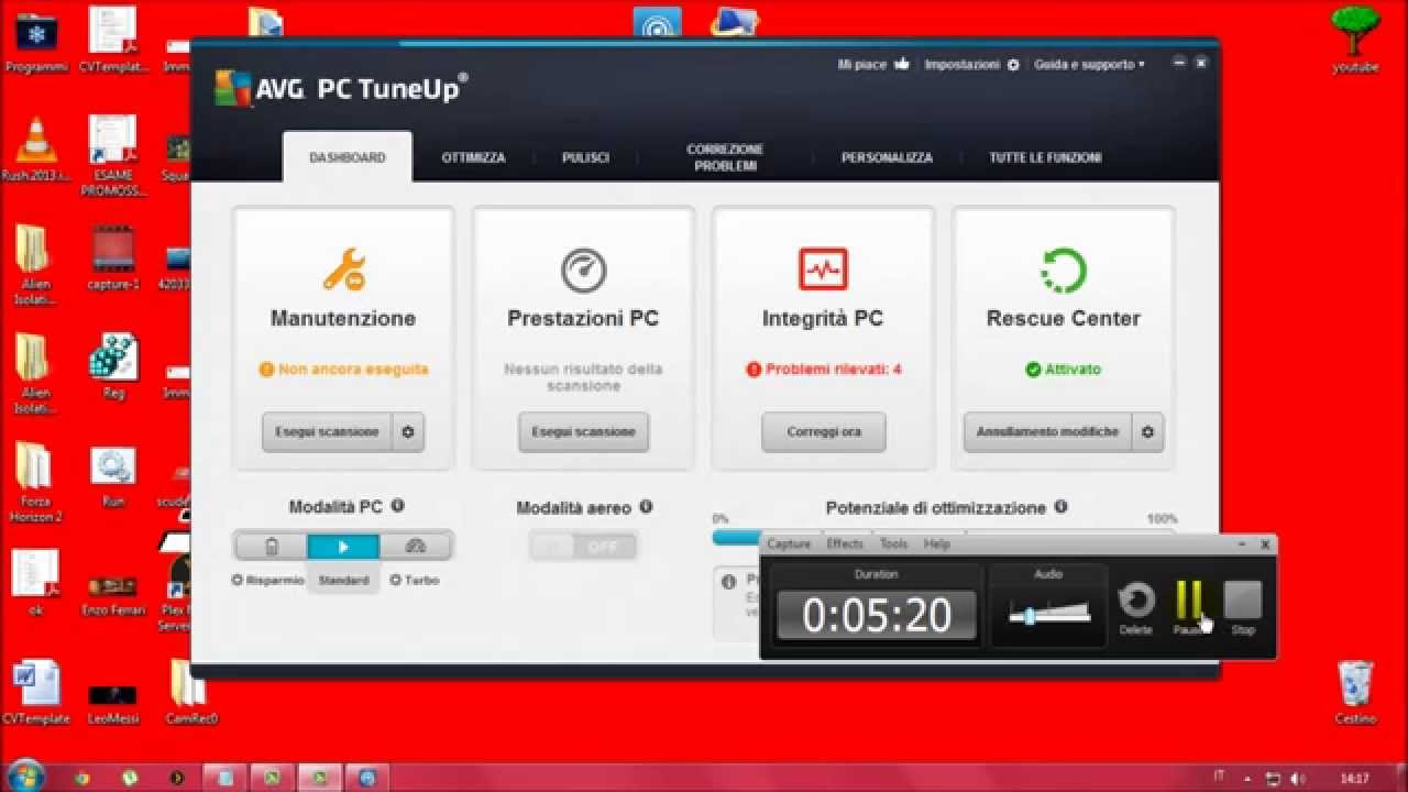avg pc tuneup italiano